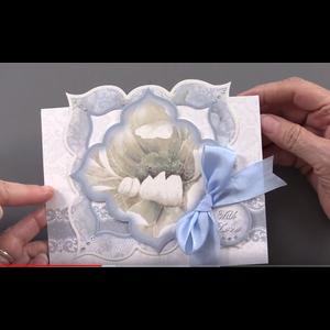Hunkydory Luxus Sets Hunkydory luksuskort til forskellige lejligheder til design af kort, blomster i flotte vindueskort med sølv effekt!