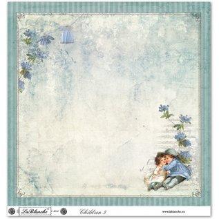 """LaBlanche LaBlanche Design Paper """"Children / Baby 2"""" nostalgie Puur!"""