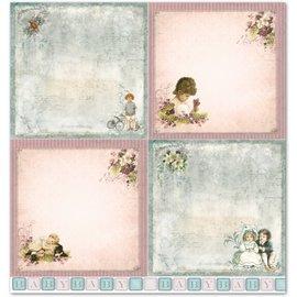 """LaBlanche LaBlanche Design Paper """"Barn / Baby 2"""" nostalgi Pure!"""