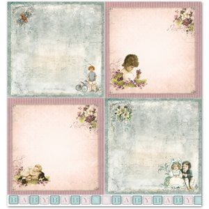 """LaBlanche LaBlanche Design Paper """"Children / Baby 2"""" nostalgi Pure!"""