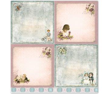 """LaBlanche Papier LaBlanche Design """"Enfants / Bébé 2"""" nostalgie pure!"""