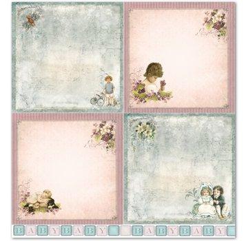 """LaBlanche LaBlanche Design Paper """"Bambini / Baby 2"""" nostalgia Pure!"""