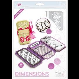 Tonic Snijmallen, Sjablonen: Dimensions - Legacy Keeper Wallet Die Set