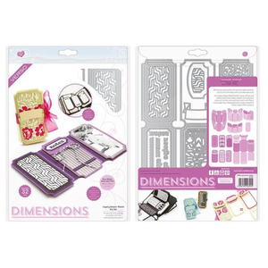 Tonic Studio´s SONDERANGEBOT! Tonic Studios, Stanzschablonen: Dimensions 2394E - Legacy Keeper Wallet Die Set. 24 Stanzschablonen SET!