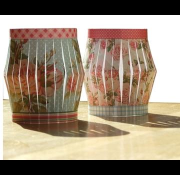 BASTELSETS / CRAFT KITS A4 Stanzbogen zum  Laternen falten
