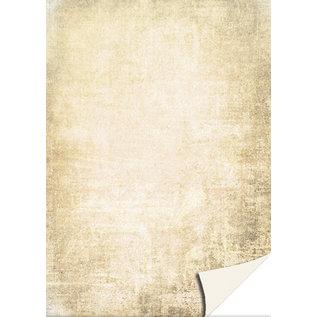 Kartenkarton Pergamentoptik creme