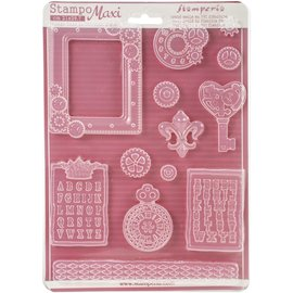 GIESSFORM / MOLDS ACCESOIRES Stamperia Soft Maxi mold for creating embellishments and much more!