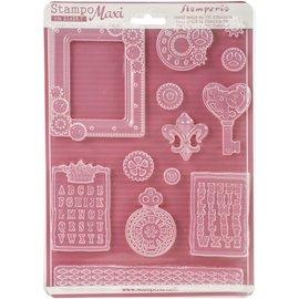 GIESSFORM / MOLDS ACCESOIRES Stampo Stamperia Soft Maxi per creare abbellimenti e molto altro!