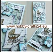 Embellishments / Verzierungen A4 vel met labels, 250 g, thema baby