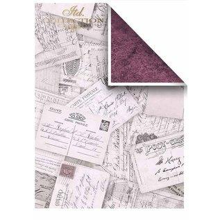 Karten und Scrapbooking Papier, Papier blöcke Papir til kort og scrapbooking, A4, 200g