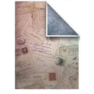 Karten und Scrapbooking Papier, Papier blöcke Papier pour cartes et scrapbooking, A4, 200g