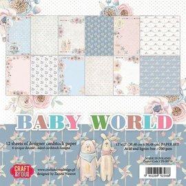 Karten und Scrapbooking Papier, Papier blöcke Paper for cards and scrapbooking, Baby World