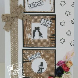Joy!Crafts / Jeanine´s Art, Hobby Solutions Dies /  Transparent stamp: 6 frames