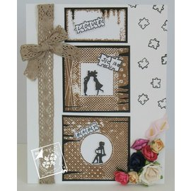 Joy!Crafts / Jeanine´s Art, Hobby Solutions Dies /  Stamp trasparente: 6 cornice