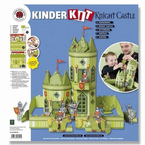 Kinder Bastelsets / Kids Craft Kits Tog Craft Kit, 1 lokomotiv, vogn 6, deco og gnome familie - Copy