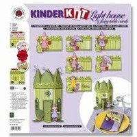 Kids kit fées château avec un jardin de fleurs