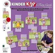 Kinder Bastelsets / Kids Craft Kits Craft kit for children, 6 fairy cards + envelopes