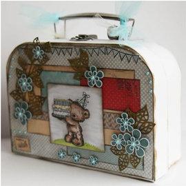 Objekten zum Dekorieren / objects for decorating 2 maletas, White