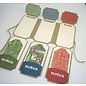 Tonic Studio´s SONDERANGEBOT! Tonic Studios, Stanzschablonen: Dimensions 2394E - Legacy Keeper Wallet Die Set. 24 Stanzschablonen SET! zum Stanzen mit einer Stanzmaschine und kreativ, basteln mit Papier, Karten, Mixed Media und Scrapbooking. Verwenden Sie diese