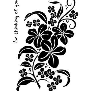 Nellie Snellen Stempel, magnolia spray