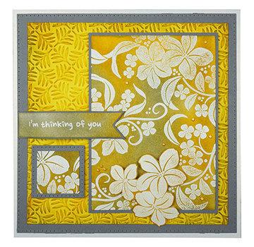 Nellie Snellen Stamp, magnolia spray