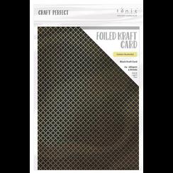 Foiled carton, DIN A4, 280 g, 5 sheets