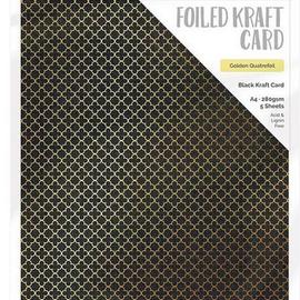 Tonic Studio´s Folieret karton, DIN A4, 280 g, 5 ark