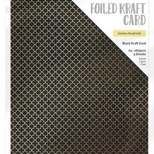 Tonic Studio´s Carton déjoué, DIN A4, 280 g, 5 feuilles