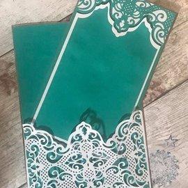 Die'sire Die´sire, Plantilla de corte y estampado: Encaje tradicional, 139 x 50 mm
