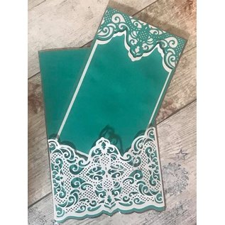 Die'sire Die´sire, Cutting and embossing Template: Traditional Lace, 139 x 50 mm
