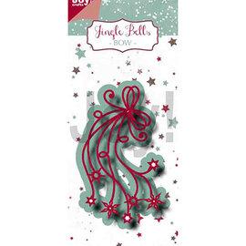 Joy!Crafts / Jeanine´s Art, Hobby Solutions Dies /  Joy Crafts, Stanzschablonen, Jingle Bells - Schleife