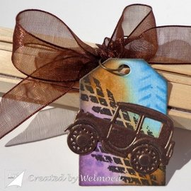 Joy!Crafts / Jeanine´s Art, Hobby Solutions Dies /  Stanzschablonen: Journey - Segelboot & Oldtimer