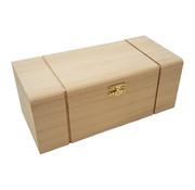 Holz, MDF, Pappe, Objekten zum Dekorieren Holzdose mit Fächer, zum Dekorieren