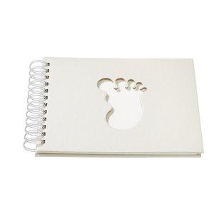 Karten und Scrapbooking Papier, Papier blöcke Herdenkingsalbum, 22 x 17 cm, Baby