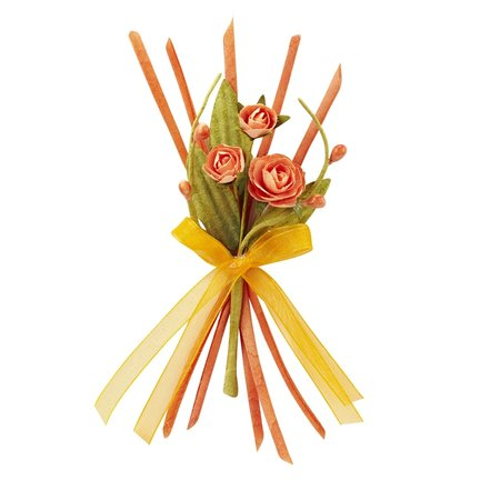 Decorative items, decorative ribbon and ornaments