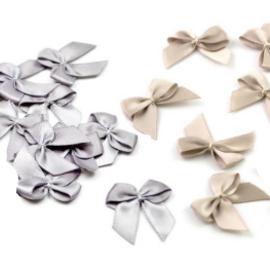 DEKO HOCHZEIT: SELBER MACHEN Decoratie linten Antiek Goud en zilver