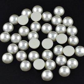 Embellishments / Verzierungen 200 medias perlas, 6 mm, con un hermoso brillo de nácar. Son ideales para decorar tarjetas, cajas, álbumes de recortes, álbumes y muchas otras ideas de manualidades.