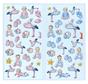 SOFTY-Sticker, selectie uit Babygirl of Babyboy