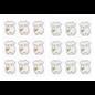 Embellishments / Verzierungen Klistremerke Romper, i utvalg rosa eller blå