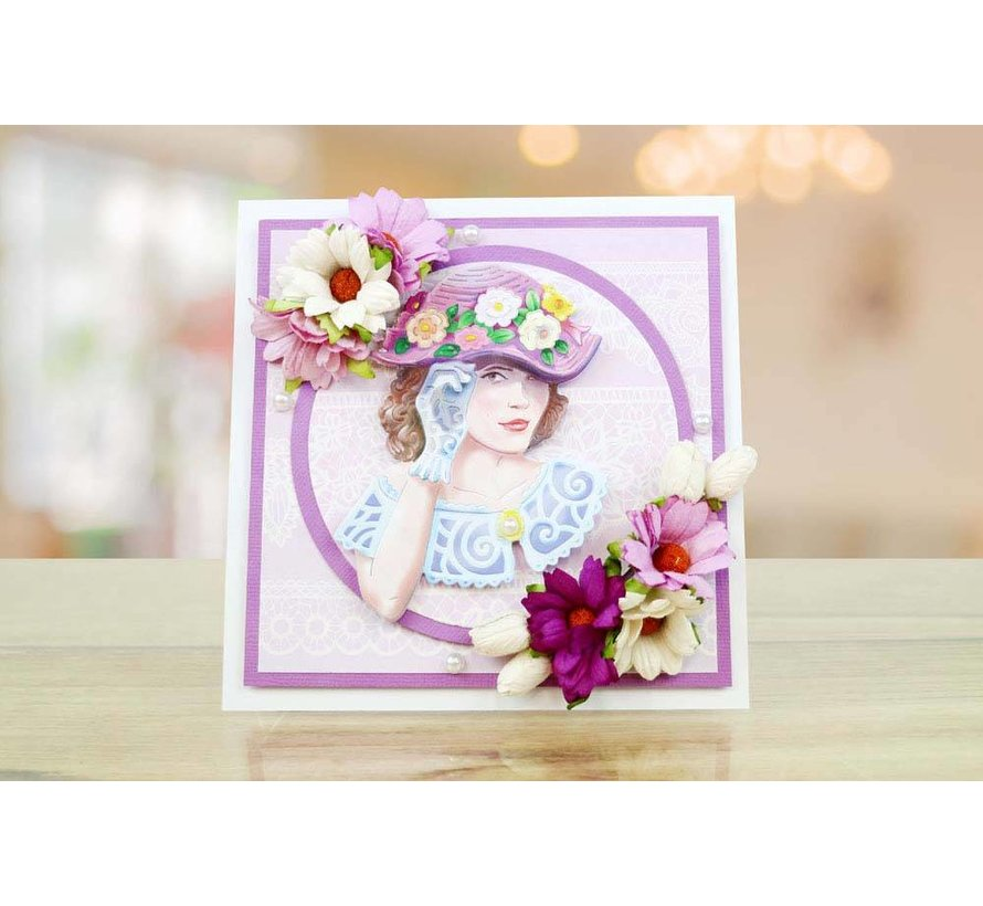NEW! Die Cutting Template: The Beautiful Penelope
