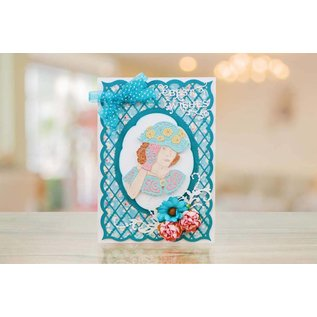 Tattered Lace NEW! Die Cutting Template: The Beautiful Penelope