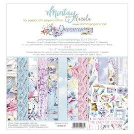 Karten und Scrapbook Papier, 30,5 x 30,5 cm, Dreamer. , Zusätzlich enthält dieses Set einen Bonus-Bogen mit tollen Ausschneideelementen.
