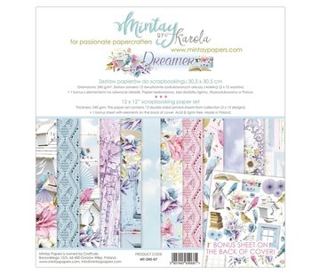 Mintay Cards and scrapbook paper, 30.5 x 30.5 cm, Dreamer