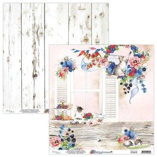 Karten und Scrapbooking Papier, Papier blöcke Kaarten en scrapbook papier, 30,5 x 30,5 cm, Berrylicious