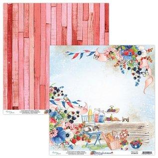 Karten und Scrapbooking Papier, Papier blöcke Cartes et papier de scrapbook, 30,5 x 30,5 cm, Berrylicious