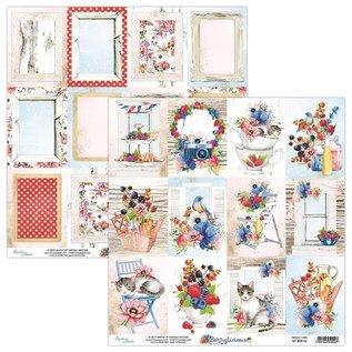 Karten und Scrapbooking Papier, Papier blöcke Karten und Scrapbook Papier, 30,5 x 30,5 cm, Berrylicious