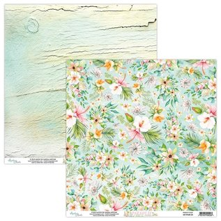 Cards and scrapbook paper, 30.5 x 30.5 cm, Paradise
