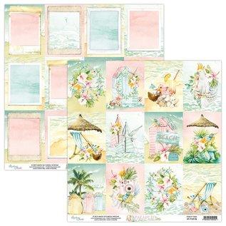 Kaarten en scrapbook papier, 30,5 x 30,5 cm, Paradise