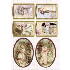Bilder, 3D Bilder und ausgestanzte Teile usw... Troquelado victoriano, 240 gr.