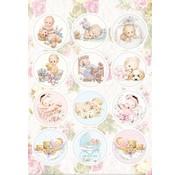 stanzbogen præ-cut billeder: babyer